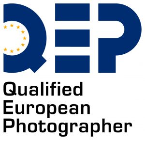 Logoen for QEP - Qualified European Photographer