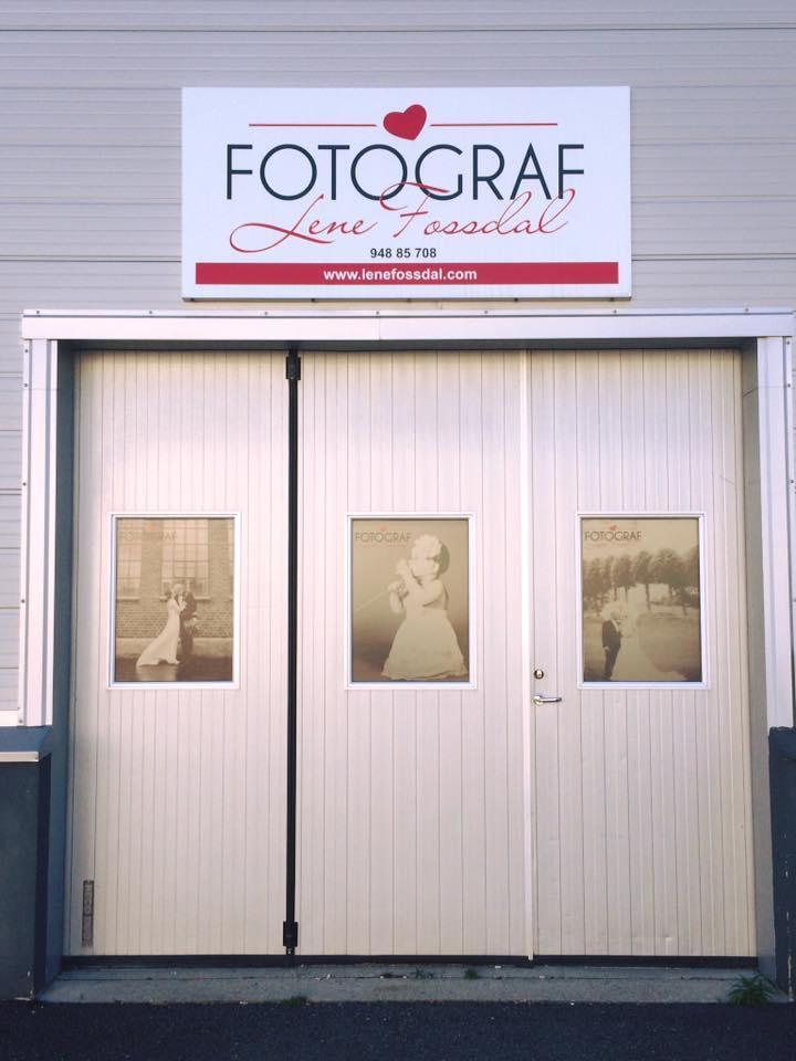 Bildet av studioet på Askøy.